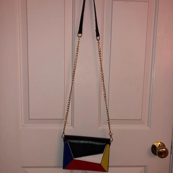 f43546734 Bags | Geometric Crossbody Bag | Poshmark